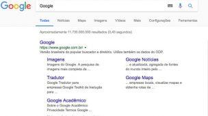 Busca do Google 1