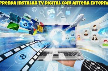 Instalar TV Digital com Antena Externa 1